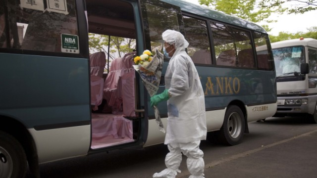 Fukushima Atomkatastrophe in Fukushima