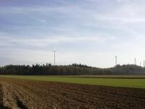 Grafik Windpark Ebersberger Forst Blick von Anzing/Frotzhofen