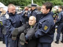 Protest von Unternehmern gegen 'Stuttgart 21'