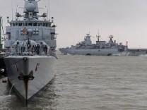 Marine-Verband bricht Richtung Südafrika auf