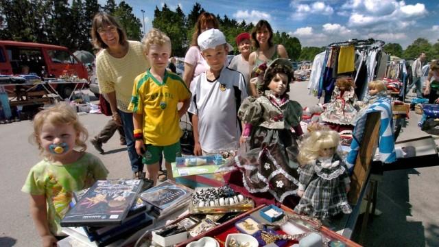 Flohmarkt Verbot für gewerblichen Sonntagströdel