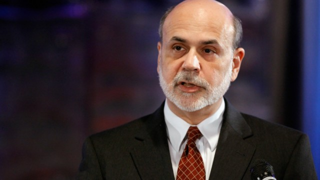 Fed Chair Ben Bernanke Addresses Committee For Responsible Federal Budget Conference