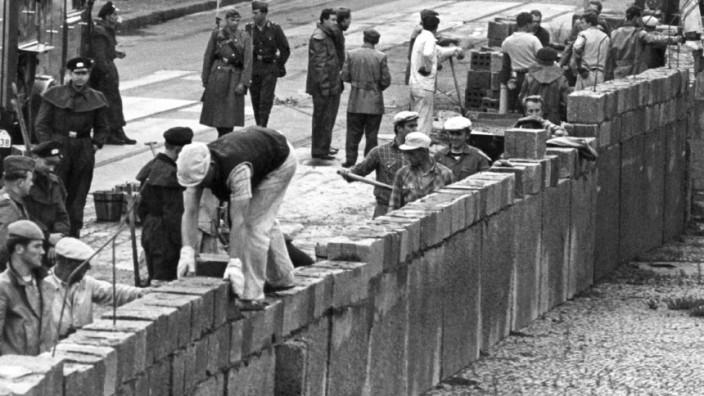 60 Jahre Bundesrepublik - Mauerbau