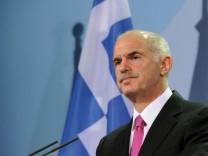 Papandreou angeblich zum Rücktritt bereit