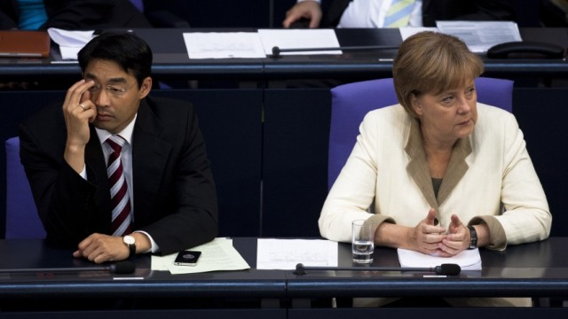 Angela Merkel, Philipp Roesler
