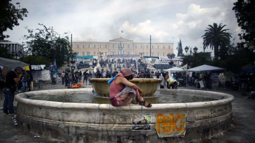 Krise in Griechenland Griechenland am Abgrund