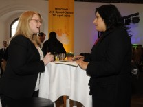 Job-Speed-Dating in München, 2010