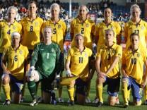 Fussball-WM Frauen - Nationalmannschaft Schweden