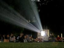 Open-Air-Kino im Münchner Ungererbad, 2007