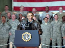 President Obama visits Bagram Airfield