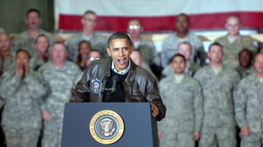 President Obama visits Bagram Airfield