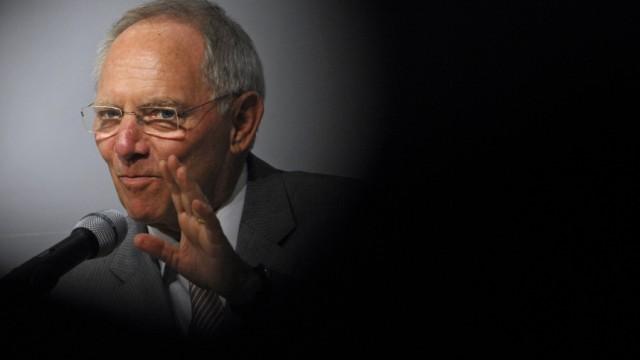Bundesfinanzminister Schaeuble spricht auf Jahrestagung des Long Term Investors Club