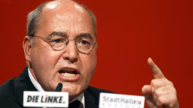 Bundesparteitag Die Linke - Gysi