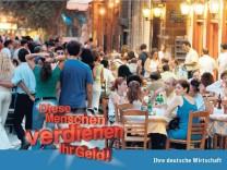 Griechenland Anzeigenkampagne