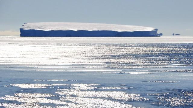 Eissschmelze in der Antarktis
