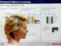Von der Leyen besucht Bosch