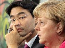 Nach Streit um Atom und Euro: Koalitionsgipfel einberufen