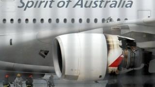 Qantas Vergleich nach Turbinenexplosion