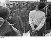 Partisanen Wehrmacht Hinrichtung Deutsches Bundesarchiv