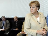 Sondersitzung der Unions-Bundestagsfraktion
