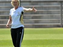 Frauen-WM 2011 - Training Deutschland