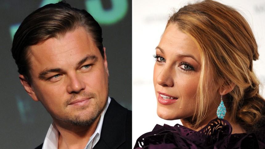 Leonardo DiCaprio und Blake Lively