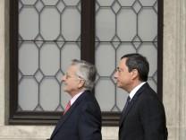 Draghi wird EZB-Praesident
