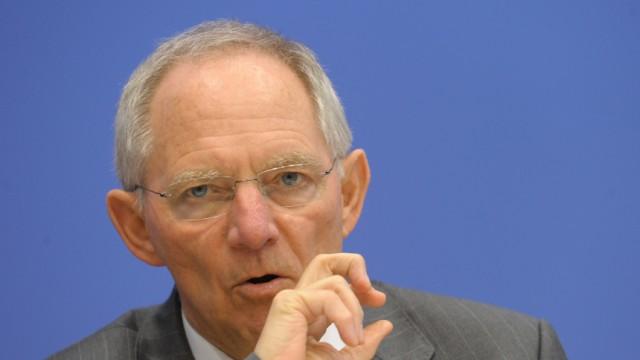 Griechenland-Rettung - Wolfgang Schäuble