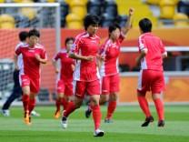 Frauen-WM 2011 - Nordkorea Training