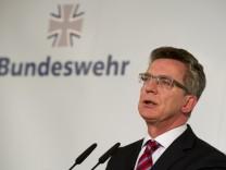 Statement Bundesverteidigungsminister de Maiziere