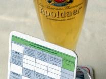 Steuererklärung auf Bierdeckel