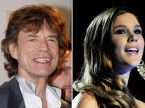 Mick Jagger mit Joss Stone und neuer Band