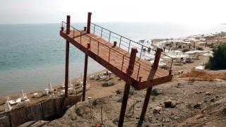 Wasserspiegel des Toten Meeres sinkt kontinuierlich