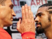 Pressekonferenz: Wladimir Klitschko vs David Haye