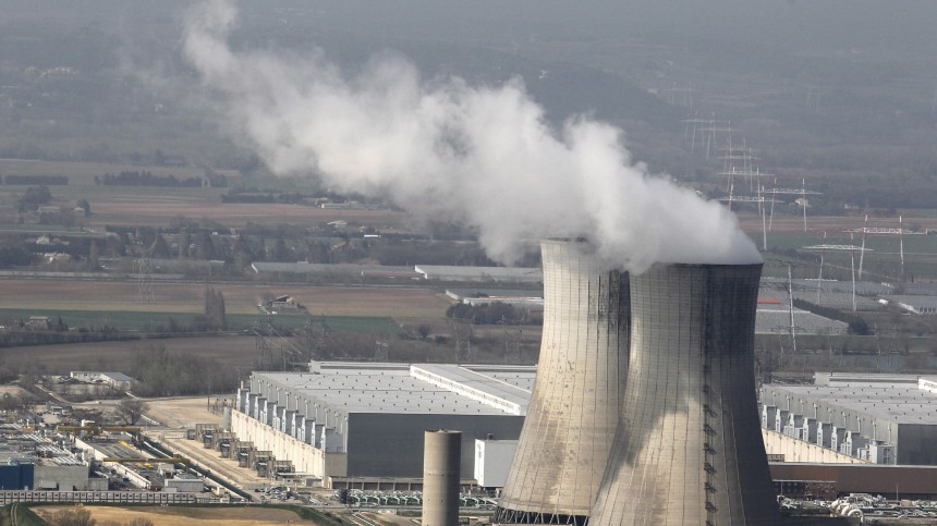 Explosion in französischem Atomkraftwerk Tricastin