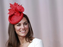 Catherine, Duchess of Cambridge, takes part in Canada Day celebrations on Parliament Hill in Ottawa