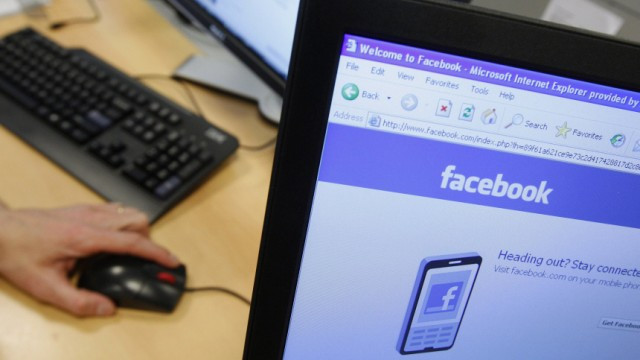 File photograph of  Facebook page