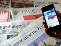 """Zeitungen klagen gegen ´Tagesschau""""-App"""
