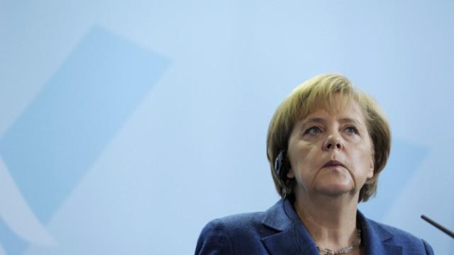 Merkel und Erdogan werben fuer Integration von Tuerken in Deutschland