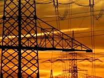 Stromausfall - Strommasten