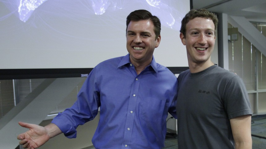 Mark Zuckerberg, Tony Bates