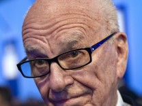 File photo of News Corporation CEO Murdoch attending the eG8 forum in Paris
