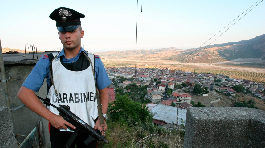 Nach Sechsfachmord in Duisburg - Polizist bei San Luca