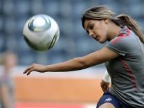 Fussball-WM: Training Frankreich