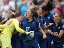 Frauen-WM 2011 - England - Frankreich