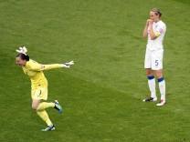 Fussball-WM: England - Frankreich
