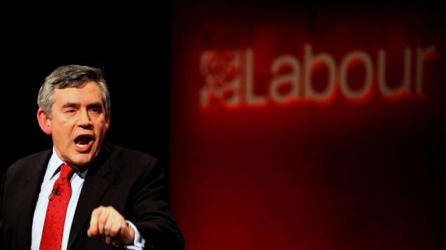 Gordon Brown Makes Final Push Towards Election Day