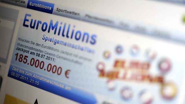 Europaweite Lotterie EuroMillions