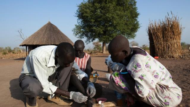 Parasiten Parasiten im Südsudan