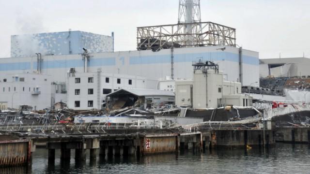 Havariertes Atom-Kraftwerk Fukushima Daichii